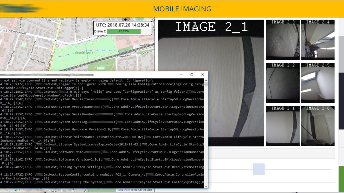 Erstellung einer Mobile Mapping Platform